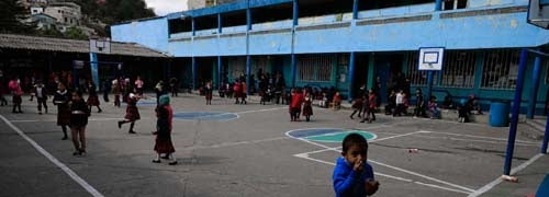 Retomarán horario normal de clases en Quetzaltenango