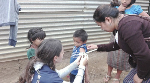 Gobierno de Guatemala intensificó esfuerzos contra mortalidad infantil y desnutrición crónica en 2018