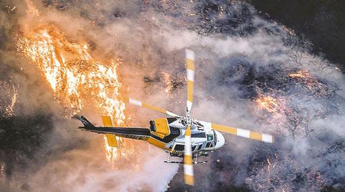 Incendio en California, la catástrofe más cara en 2018