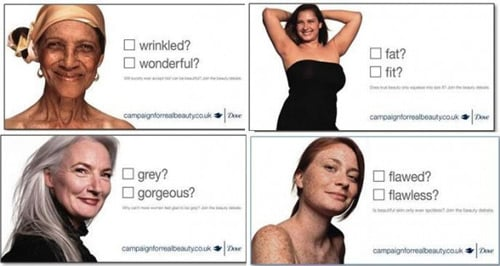 Mejor campaña mujeres: Dove real beauty