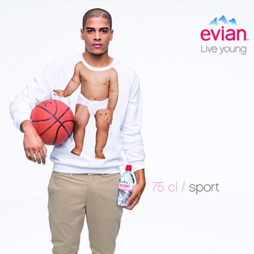 Mejor campaña Evian Bebes