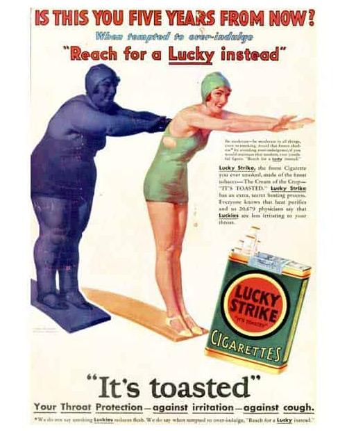 Mejor campaña cigarrillos para mujeres: Lucky Strike