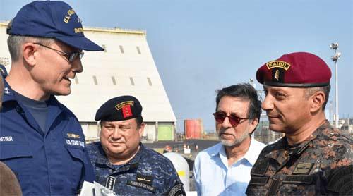 Marina de Guatemala y de EE. UU. realizarán operaciones conjuntas