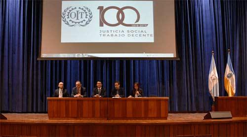 Conmemoran centenario de la OIT