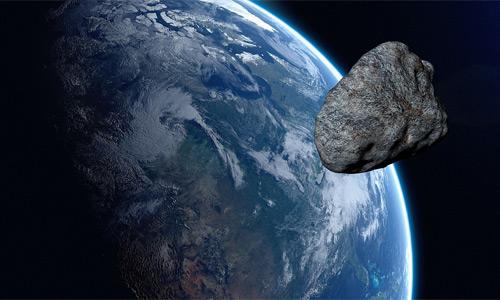 Asteroide a punto de impactar la Tierra