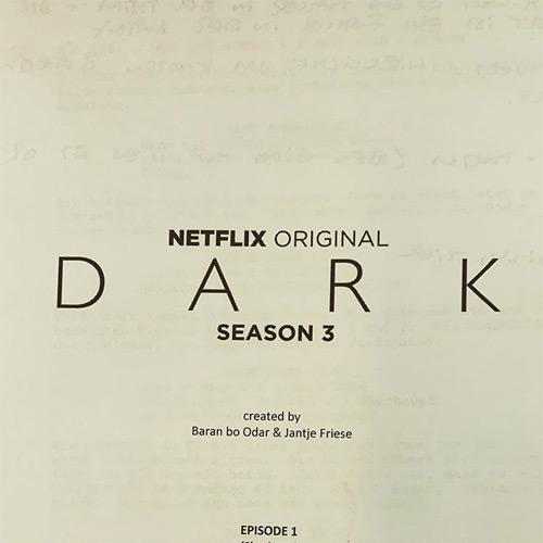 Guion Dark Temporada 3