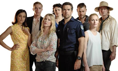 Actgores y personajes de la serie australiana 'Glitch'