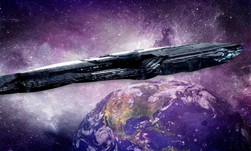 nave alienigena a la tierra