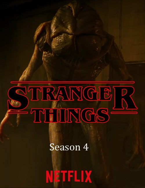 Stranger Things - Poster temporada 4