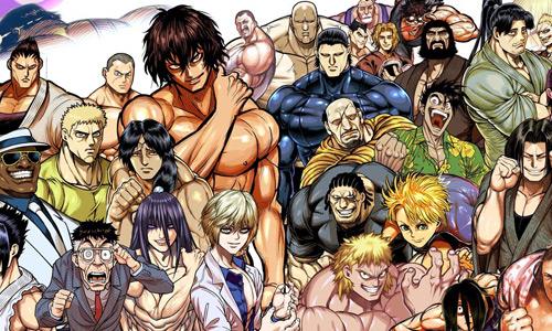 Personajes de la serie Kengan Ashura