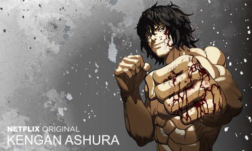 Kengan Ashura temporada 2 por Netflix