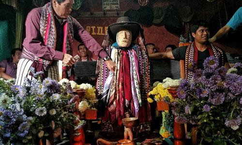 Maximon de Santiago Atitlán