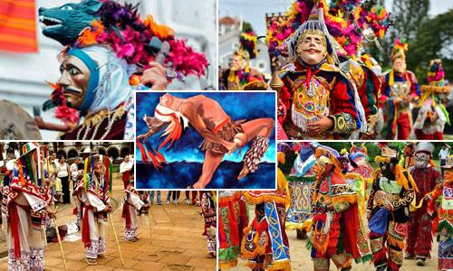 Danzas folklóricas de Baja Verapaz