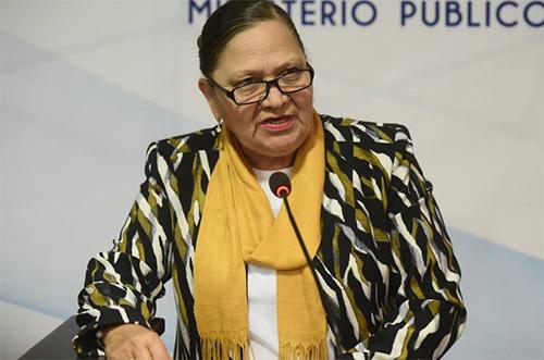 Consuelo Porras se pronuncia ante denuncia en su contra