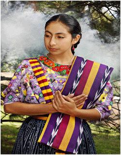 Traje típico de Xelajú, Quetzaltenango