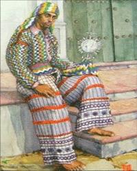 Traje típico de hombre Almolonga, Quetzaltenango