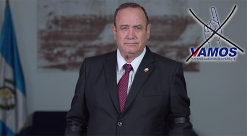 Alejandro Giammattei, Presidente de Guatemala 2020