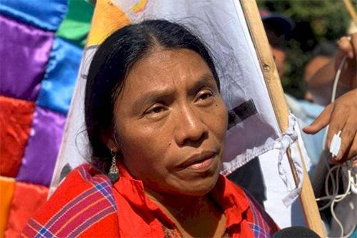 Thelma Cabrera envía mensaje a Evo Morales: