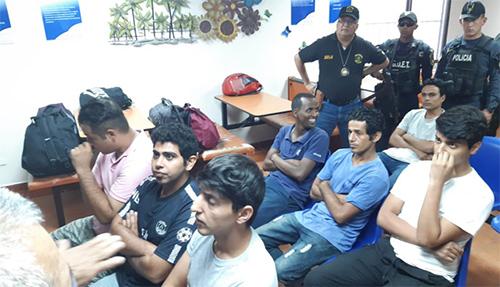Grupo de iraníes que pretendían llegar a EE.UU. son capturados en Honduras