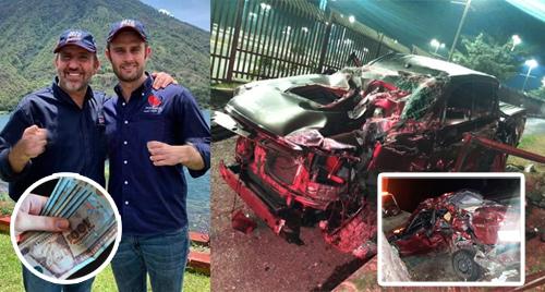 Hijo de Roberto Arzú logra conciliación con víctimas de accidente