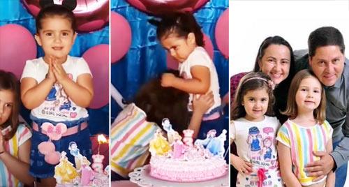 VIDEO: Revelan que pasó después de la pelea de niñas al soplar un pastel