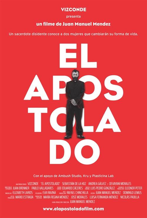 Poster pelicula guatemalteca El Apostolado