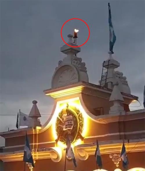 Flama Palacio de Correos - Guatemala