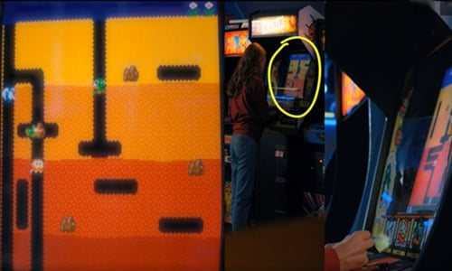 Error en Dig Dug - Stranger Things