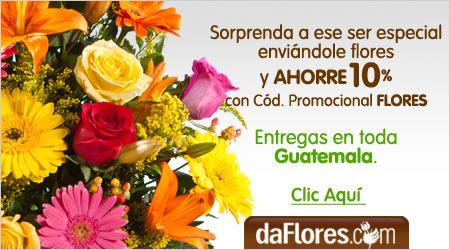 Arreglos de flores en Guatemala
