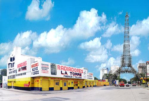 Radiadores la torre sistema de aire acondicionado for Torre aire acondicionado