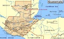 Datos geográficos de Guatemala - DEGUATE.com
