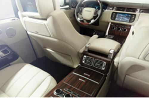 Interior del nuevo Range Rover 2013
