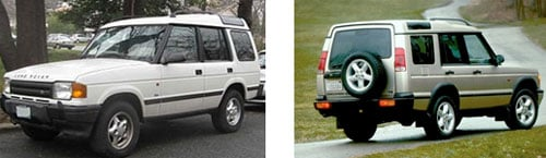 Land Rover Discovery Series I 1990 - Land Rover Discovery Series II 1998