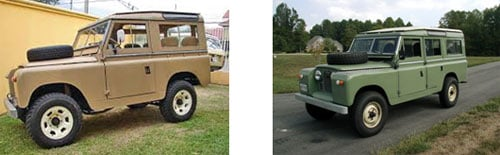 Land Rover Serie 2, 1967 - Land Rover Serie 2 (Jardinera), 1967