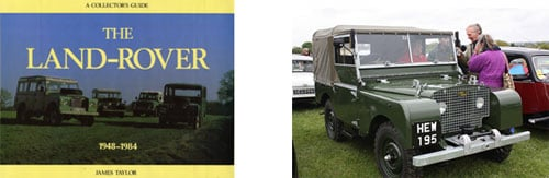 Panfleto 1948-1984 con la historia - Land Rover Serie 1, 1950