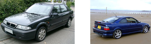 Rover 200 Series MK2 (R8) 1989 - Rover 220 Coupe turbo 1989