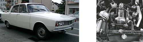 Rover 2000/ 2000SC/2000TC, 1967  - Motor del Rover 2000 TC