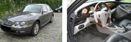 Rover 75, único modelo Rover lanzado por BMW