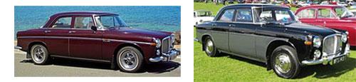 """Rover P5 1959       -       Rover P5 Mark I """"3-Litre"""" 1960"""