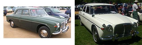 "Rover P5 Mark II ""3-Litre"" 1963 - Rover P5 Mark III ""3-Litre"" 1966"