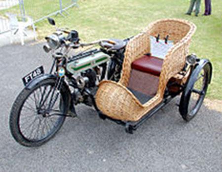 """Modelo H, la """"Trusty Triumph"""". 57,000 ejemplares fueron construidos entre 1915 y 1923"""