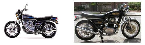 Suzuki GS - Yamaha 650 Special