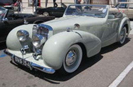 Triumph 1800 Roadster 1946