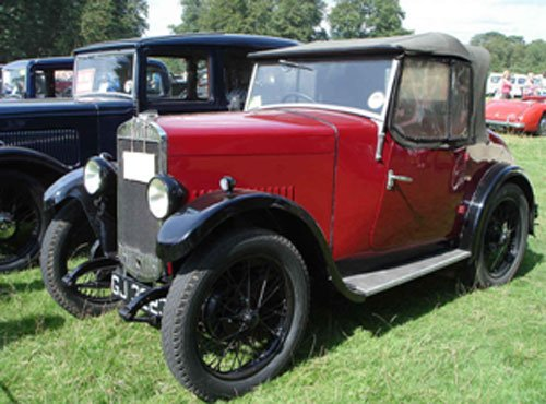 Triumph Super Seven 1930