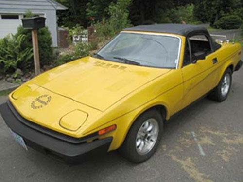 Triumph TR7 1976-1981