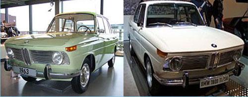 1964 BMW 1500 -1965 BMW 1800 TI/SA