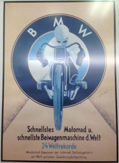 Afiche Motos BMW 24 records mundiales