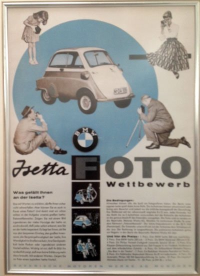 Afiche BMW Isetta 300