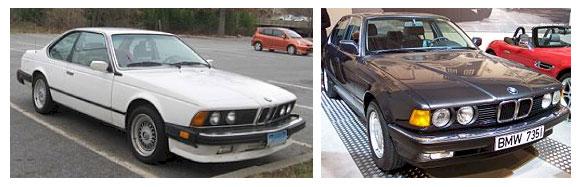 BMW Serie 6 / BMW Serie 7