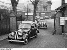 BMW 321 Eisenach - 1948